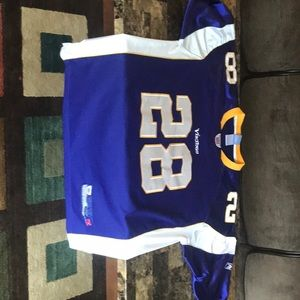 NFL authentic Vikings - Peterson  #28 Jersey